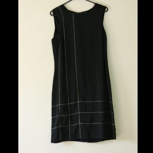 Tessuto Black Aline Dress, Size 6